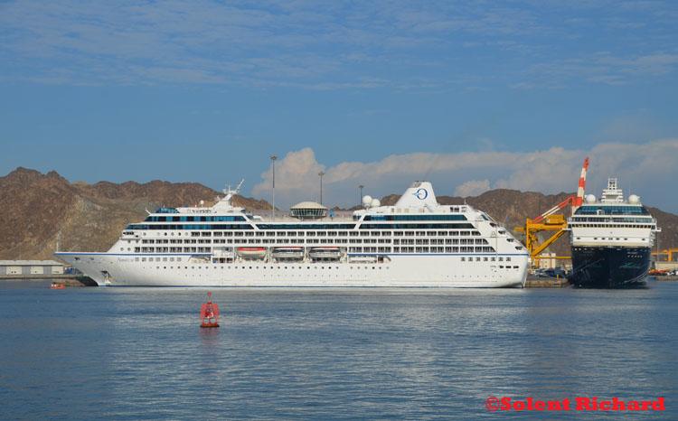 Oceania Nautica  Dawn Of Civilisation Cruise  Solent