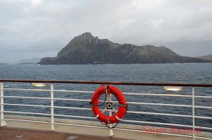 Off Cape Horn with Infinity Lifebelt