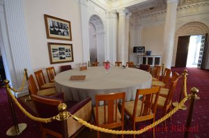 Livadia Palace Conference round table