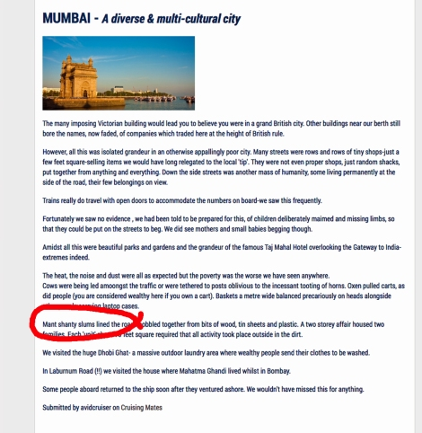 Mant Mumbai review in Cruise Select