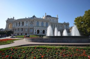 Odessa Opera House front aspect