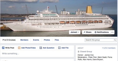 P&O Facebook Group header