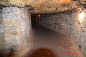 Relatively broad passageways