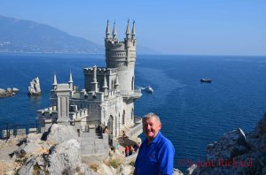 Richard above the Swallow's Nest
