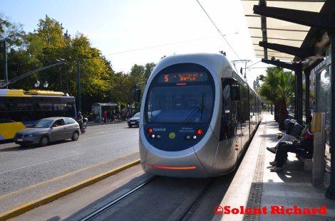 Athens to Palaio Faliro tram