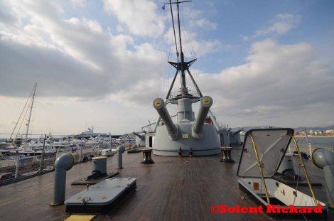 George Averof stern deck looking forward