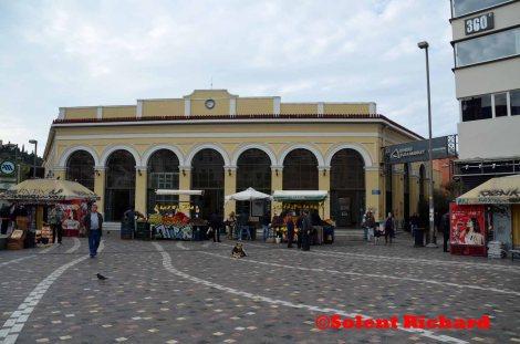 Monastiraki rail Station
