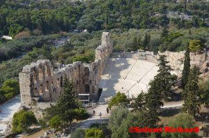 Odeon of Herodes Atticus side view