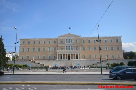 The Hellenic Parliament building