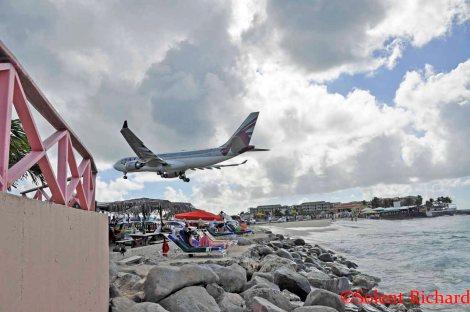 Maho Beach St Maarten ©Solent Richard