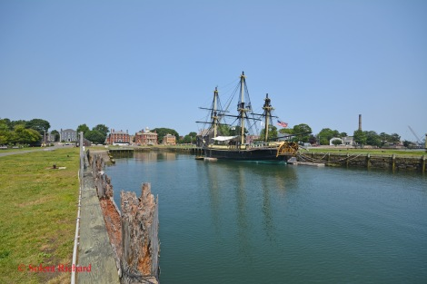 Salem Wharf and Frienship of Salem