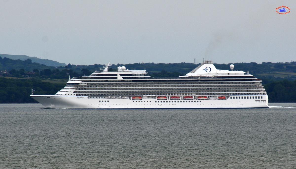 Welcome onboard Oceania Marina | Solent Richard\'s Cruise Blog